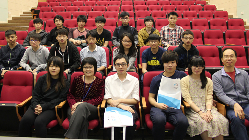 Graduates Sharing of IT/IVE(Chai Wan)
